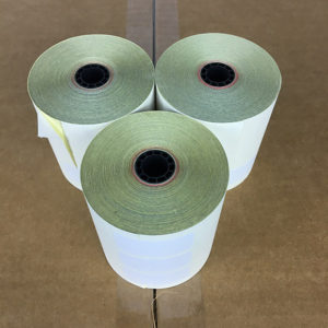 "2 Ply 3"" x 90' Bond Printer Paper Kitchen 50 Rolls"