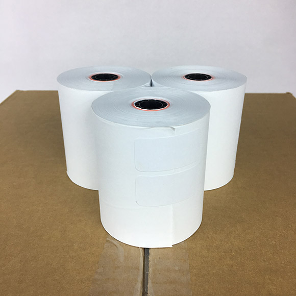 "3 1/8"" Inch x 230' Feet Printer Thermal POS Register Paper Rolls 50 / Case"