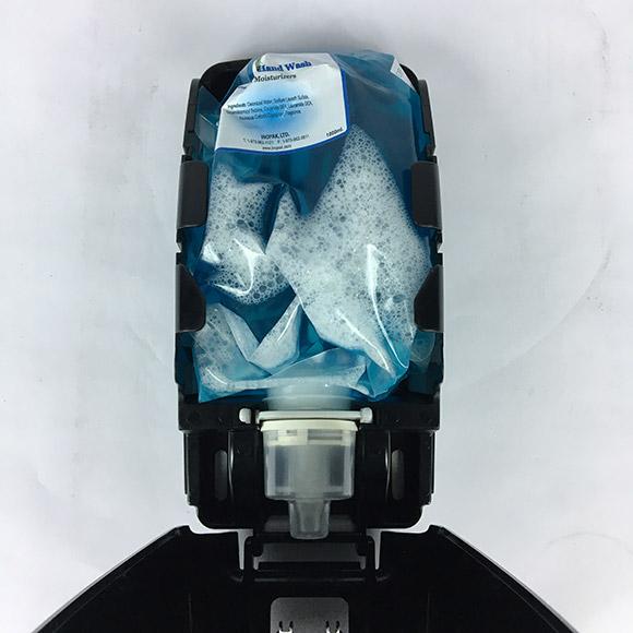Foaming Soap & Hand Sanitizer Pouch Dispenser