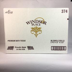 2-Ply Toilet Tissue Paper 96 Rolls / Case