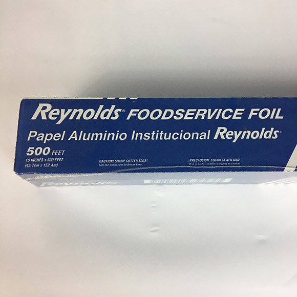 Reynolds Foodservice Food Service Aluminum Foil 18 Inch 500 Foot/Feet