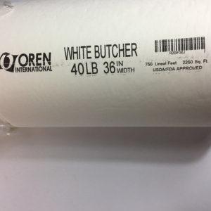 "Butcher Paper White 40LB 36"" Width"