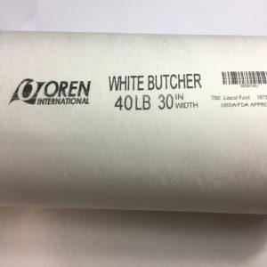 "Butcher Paper White 40LB 30"" Width"