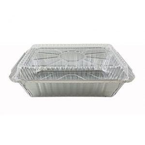 Dome Lids for 1.5lb. & 2.25lb. Oblong Aluminum Pans (500ct.)
