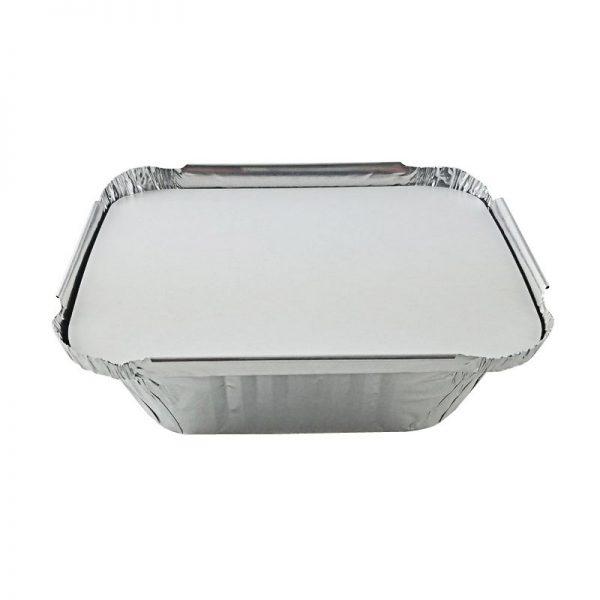 Foil Laminated Board Lid for 2.25lb. Oblong Pans (400ct.)