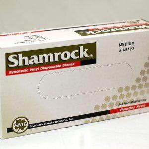 66000 Shamrock Vinyl Disposable Powder Free Gloves