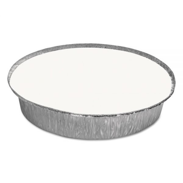"""Round Laminated Board Lids for 7"""" and 9"""" Aluminum Pan (500ct.)"""
