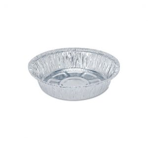 """7"""" Round Aluminum Take Out Pan (500ct.)"""