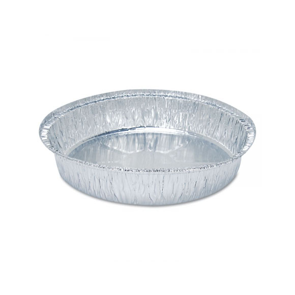 """9"""" Round Aluminum Take Out Pan (500ct.)"""