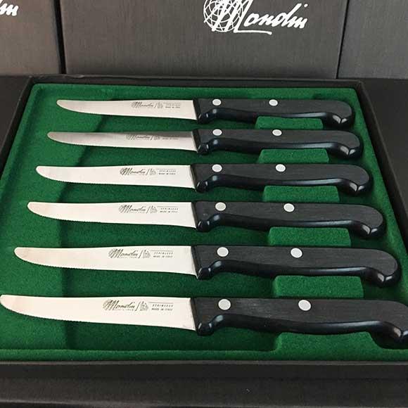 Mondin Steak Knife Set 6 Pieces