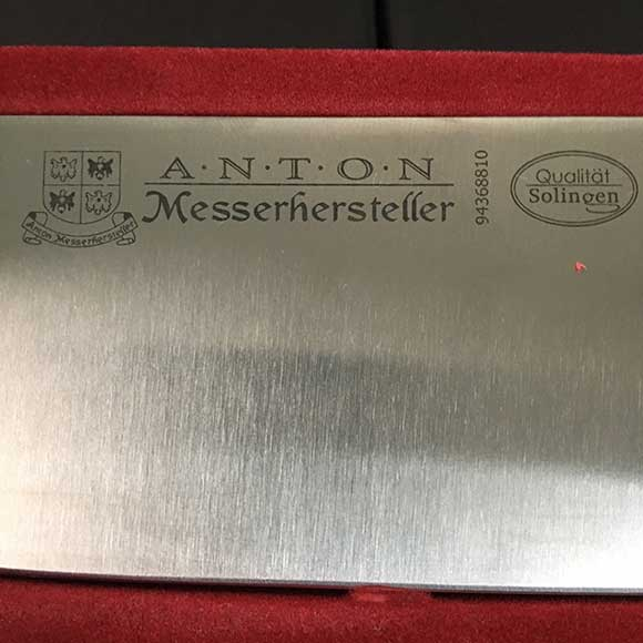 Anton Messerhersteller 10 Quot Chef Knife Forged Handle