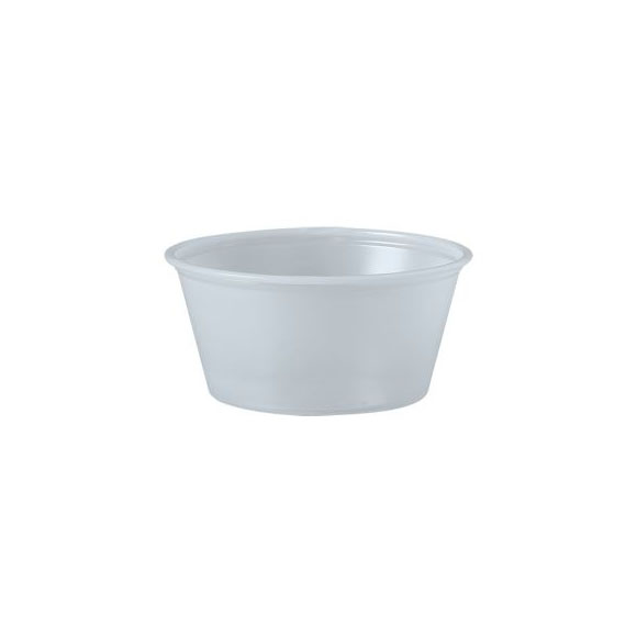 3.25 oz. Clear Souffle Cup / Portion Cup (2500 ct.)