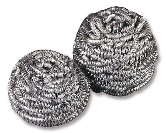 Stainless Steel Wool Scrubber Scouring Pad 72 Case Pro
